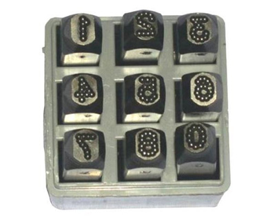 Dot Stress Numeric Punches